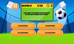 Soccer Quiz Fun screenshot 1/6