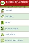 Benefits of Cucumber  screenshot 3/4