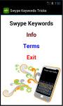 Swype Keywords Tricks screenshot 4/4