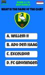 Netherlands Football Logo Quiz screenshot 4/5