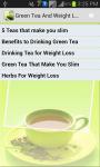Green Tea N Weight Loss screenshot 1/4