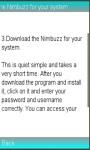 Info On Nimbuzz App screenshot 1/1