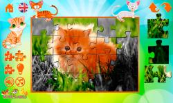 Kittens Puzzles screenshot 3/5