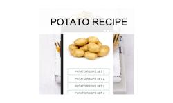 Potato recipes food screenshot 1/3