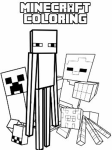 Minecraft coloring 10 screenshot 4/4