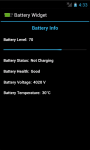 Battery Widget for Android screenshot 4/4