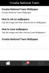 Croatia National Team Wallpaper screenshot 2/5