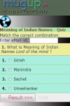 Meaning of Indian Names Quiz screenshot 2/3