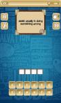 Puzzle Word Pro screenshot 2/4