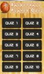 Basketball Players Quiz screenshot 1/4