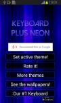 Keyboard Plus Neon screenshot 3/6