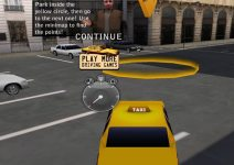 New York Taxi License 3D screenshot 1/4