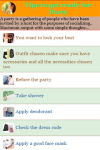 Ready For Party Tips Ideas screenshot 2/3