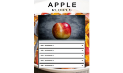 Apple recipe screenshot 1/3