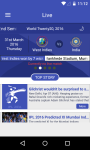 IPL 2016 And Live Cricket Score screenshot 1/6