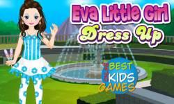 Girl Games: Little Eva Dressup screenshot 1/2