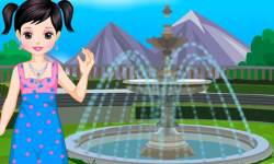 Girl Games: Little Eva Dressup screenshot 2/2