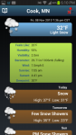 NOAA Snow Forecast excess screenshot 1/3