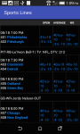 Sports Lines and Odds screenshot 2/3