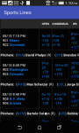 Sports Lines and Odds screenshot 3/3