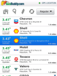 GasBuddy - Find Cheap Gas Prices screenshot 2/6