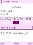 Weight Tracker Free screenshot 3/5