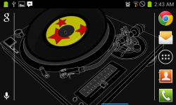 DJ Decks Live Wallpaper Free screenshot 3/3