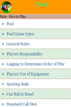 Rules to Play Pool screenshot 3/4