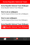Korea Republic National Team Wallpaper screenshot 2/5