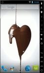 Chocolate Heart Live Wallpaper screenshot 1/2