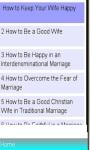 Marriage FAQs and Guide screenshot 1/1