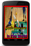 Most Obscure Sports In The World screenshot 1/3