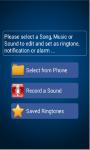 mp3-ringtone cutter screenshot 3/6