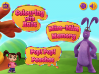 Kate and Mim Mim Funny Bunny Fun opened screenshot 2/6