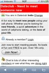 Dateclub India screenshot 1/3