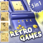 Retro Games 5 in1 screenshot 1/2