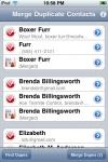Merge Duplicate Contacts screenshot 1/1