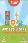 ABC 123 Blocks = Learning Tool For Toddlers screenshot 1/1