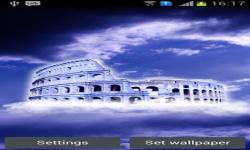 Floating Colosseum Live Wallpaper screenshot 2/3