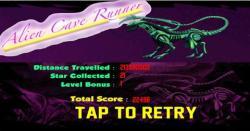 Alien Cave Runner screenshot 1/6