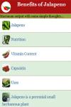 Benefits of Jalapeno screenshot 3/4