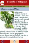 Benefits of Jalapeno screenshot 4/4