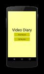 VideoDiary screenshot 1/4