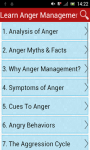Learn Anger Management screenshot 1/3