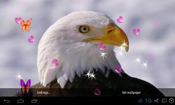 3D Eagle Live Wallpaper screenshot 1/5