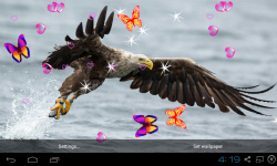 3D Eagle Live Wallpaper screenshot 2/5