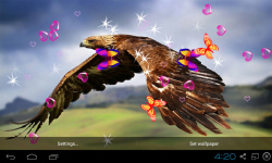 3D Eagle Live Wallpaper screenshot 3/5