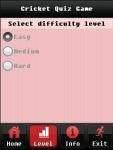 Cricket Quiz Game screenshot 3/5