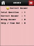 Cricket Quiz Game screenshot 5/5