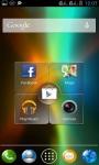 RAINBOW AURORA VISUALS1 LWP screenshot 3/3
